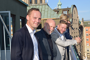 Tema Robotics bland Stockholms takåsar