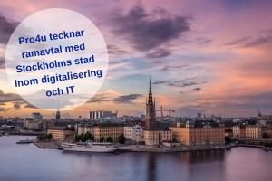 Pro4u tecknar nytt ramavtal med Stockholms stad